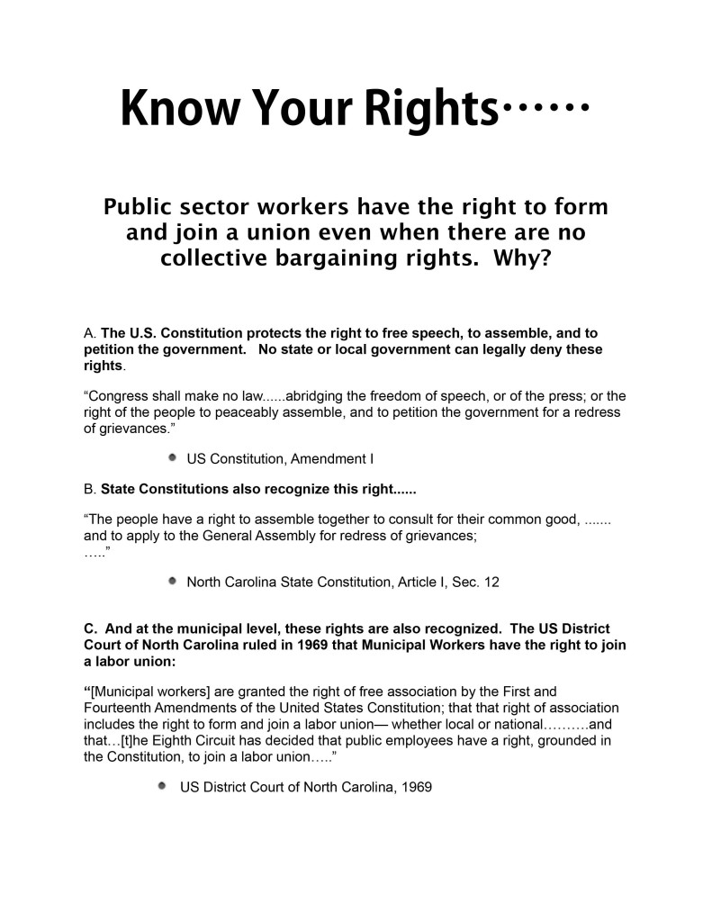 Know Your Rights To Join The Union Nov 2013 Final.pages